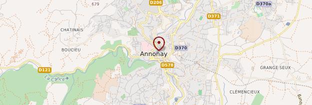 Carte Ardèche verte, Annonay et la vallée du Doux - Ardèche, Drôme