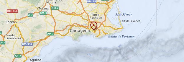 Carte Hotel B And B Espagne