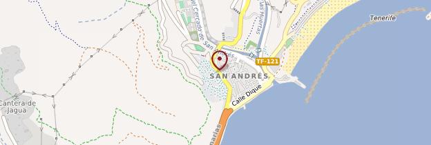 Carte San Andrés - Tenerife