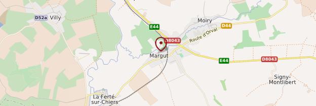 Carte Margut - Champagne-Ardenne