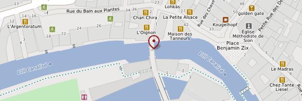 Carte Pont du Faisan - Strasbourg