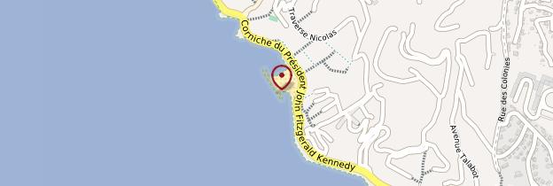 Carte Corniche Kennedy - Marseille