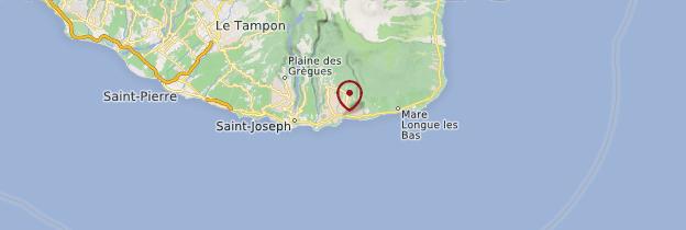 Carte Basse-Vallée - Réunion