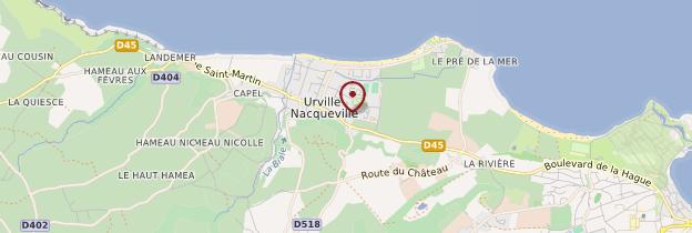 Carte Urville-Nacqueville - Normandie