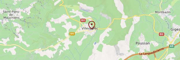Carte Villeveyrac - Languedoc-Roussillon