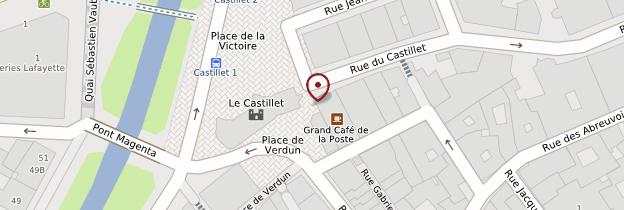 Carte Le Castillet - Languedoc-Roussillon
