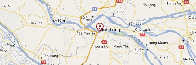 Carte Vĩnh Long - Vietnam