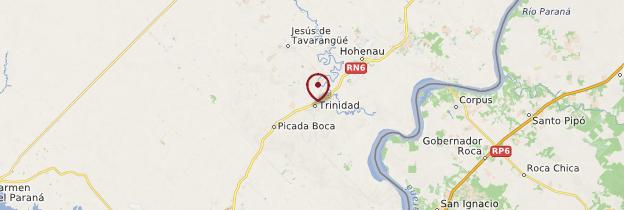 Carte Trinidad - Paraguay