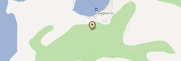 Carte Monastère de Panormitis - Îles grecques