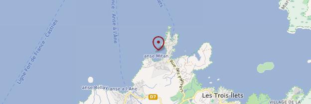 Carte Anse Mitan - Martinique