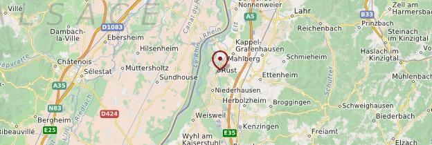 Carte Europa-Park - Allemagne