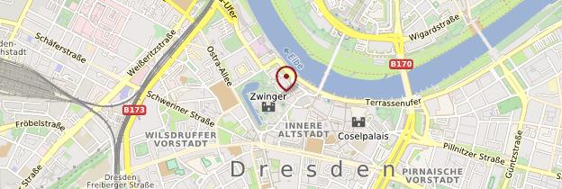 Carte Zwinger - Allemagne