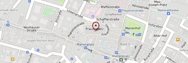 Carte Frauenkirche - Munich