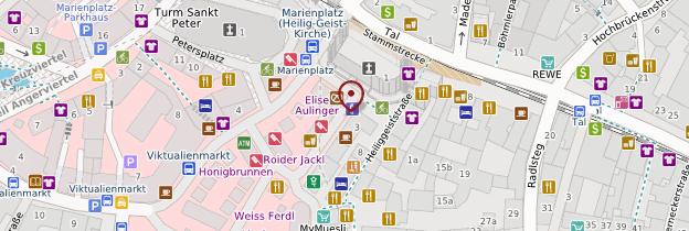 Carte Viktualienmarkt - Munich