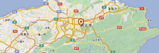 Carte Taipei - Taiwan