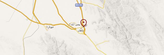 Carte Mahan - Iran