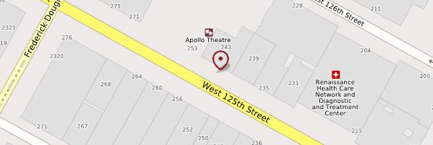 Carte Apollo Theater - New York