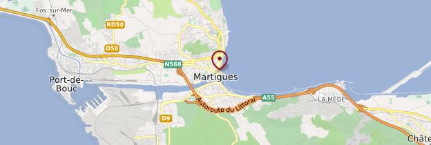 Carte Martigues - Provence