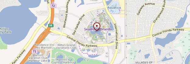 Carte Seaworld - Floride