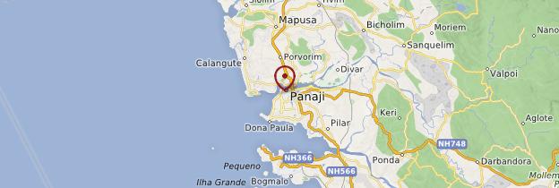 Carte Panaji (Panjim) - Goa