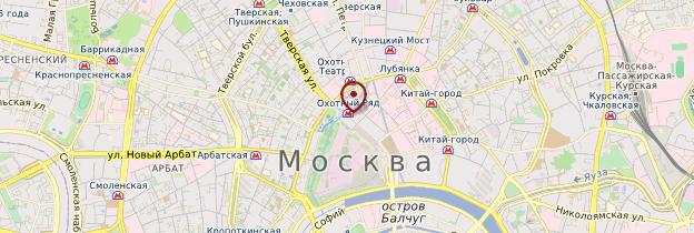 Carte Métro de Moscou - Moscou