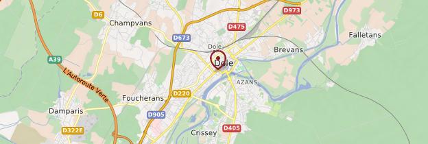 Carte Dole - Franche-Comté