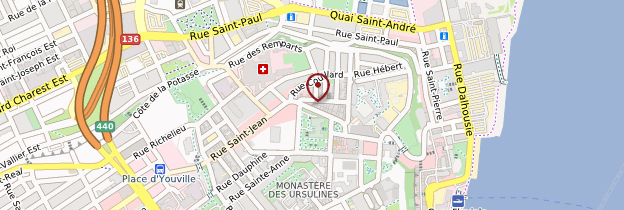 Carte Vieux-Québec - Québec