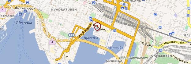 Carte Det Norske Opera - Norvège