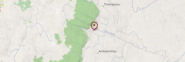 Carte Ambohimahasoa - Madagascar