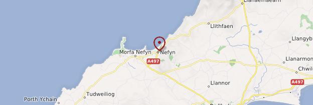 Carte Nefyn - Pays de Galles
