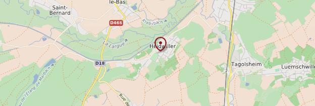 Carte Heidwiller - Alsace