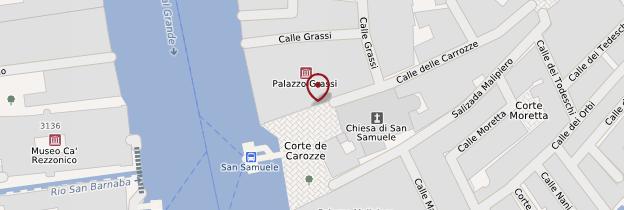 Carte Palazzo Grassi - Venise