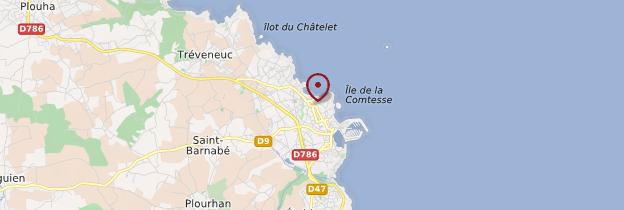 Carte Saint-Quay-Portrieux (Sant-Ke-Porzh-Lued) - Bretagne