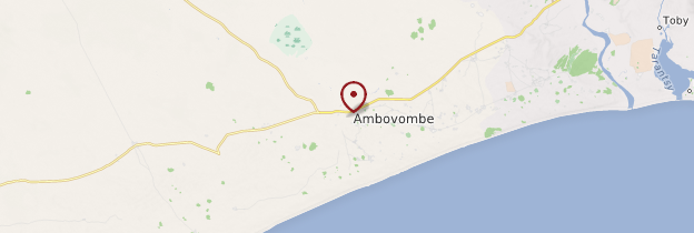 Carte Ambovombe - Madagascar