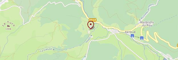 Carte Payolle - Midi toulousain - Occitanie
