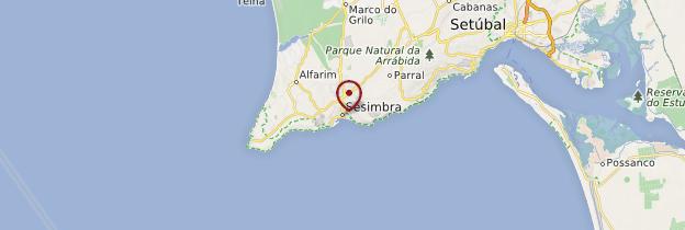 Carte Sesimbra - Portugal