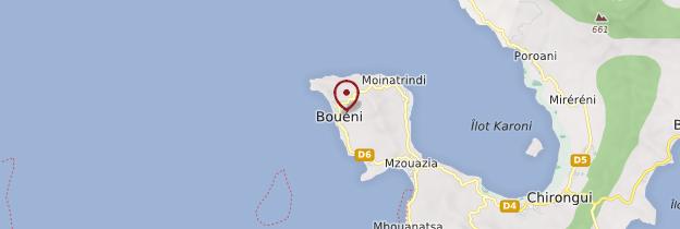 Carte Bouéni - Mayotte