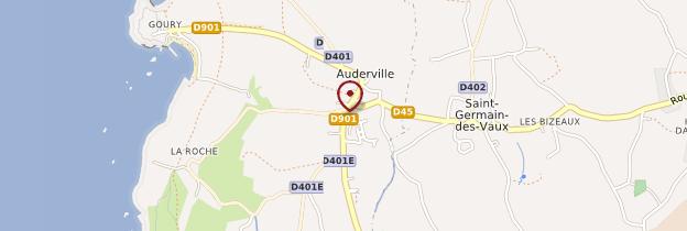 Carte Auderville - Normandie