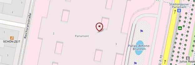 Carte Parlement - Vienne