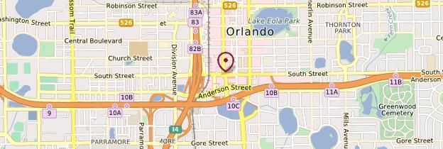 Carte Orlando - Floride