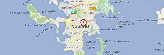 Carte Nouméa et ses environs - Nouvelle-Calédonie