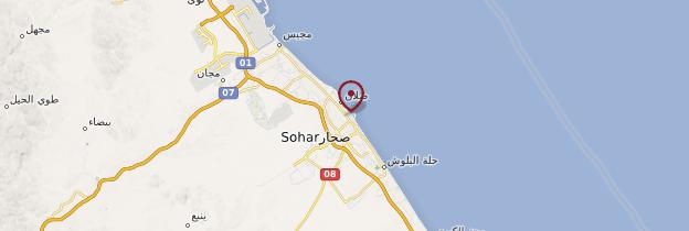 Carte Sohar - Oman