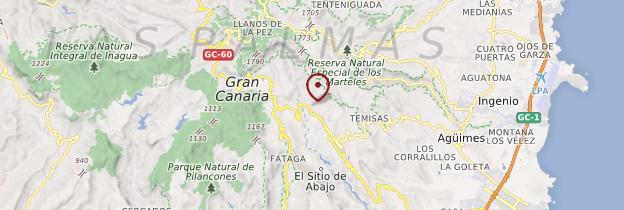 Carte Grande Canarie - Canaries