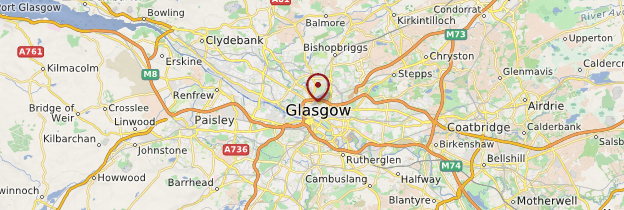 Carte Glasgow - Écosse