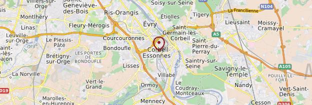 Carte Essonne - Île-de-France