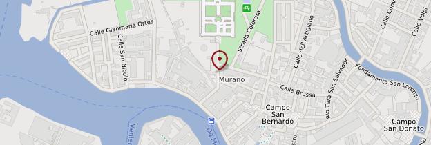 Carte Murano - Venise