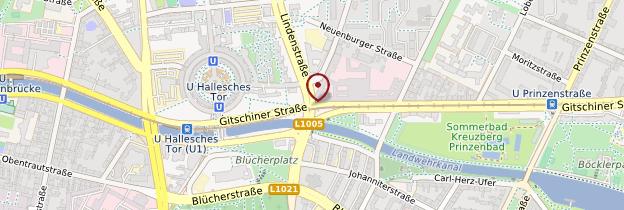 Carte Kreuzberg - Berlin