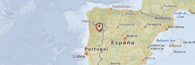 Carte Beira Alta - Portugal