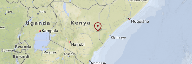 Carte Est - Kenya