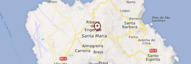 Carte Santa Maria - Açores